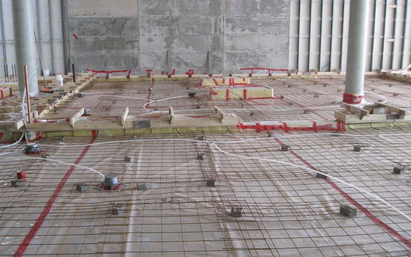 dalle de beton r alisez une dalle en b ton pour votre abri de jardin partie with dalle de beton. Black Bedroom Furniture Sets. Home Design Ideas